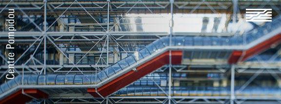 Visitez le Centre Pompidou en ligne !  © Photo. Manuel Braun