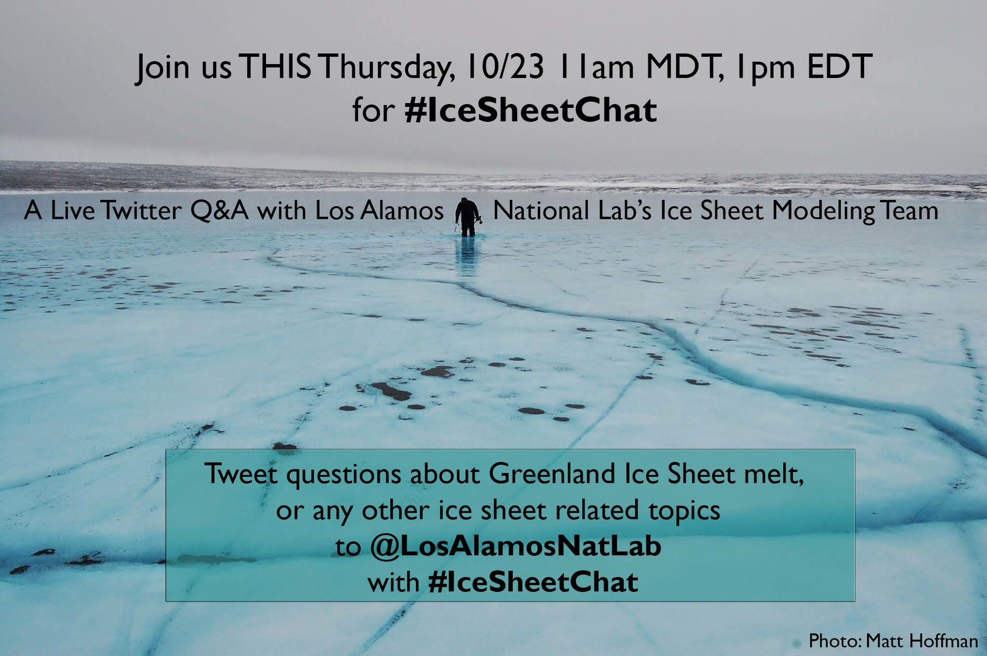 #IceSheetChat