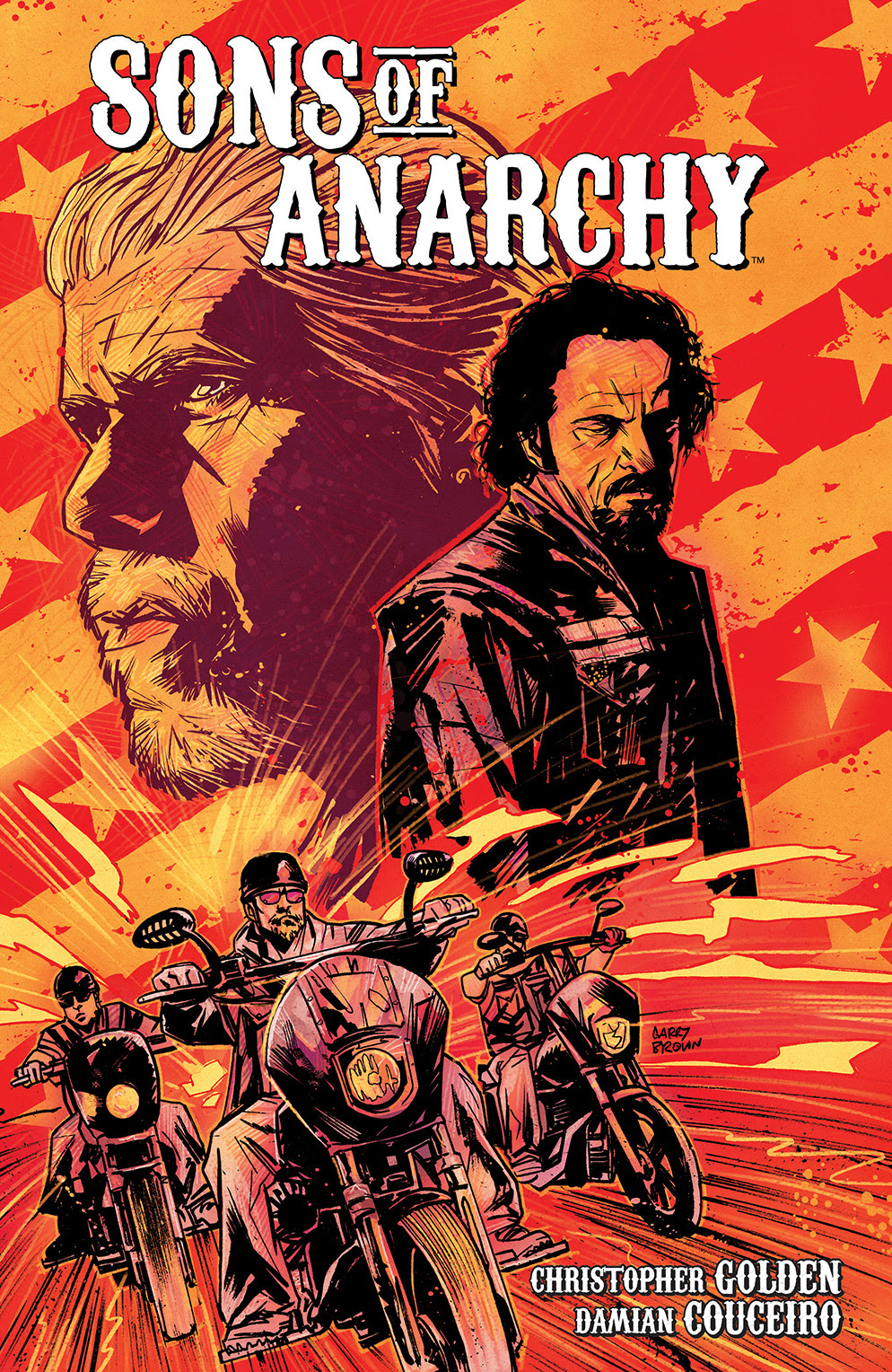 SONS OF ANARCHY VOL. 1 TP Cover by Garry Brown
