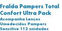 Fralda Pampers Total Confort U