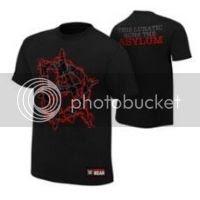 Dean Ambrose The Lunatic Runs the Asylum Authentic T-Shirt