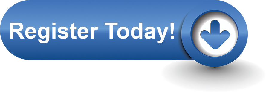 blue button with arrow - register today