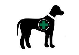Symbol for service animal
