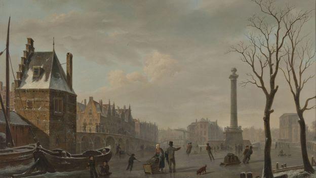 """Derechos de autor de la imagen GETTY IMAGES / Image caption / Uno de los eventos pasados analizados es la """"Pequeña Edad del Hielo"""", que tuvo su punto máximo en Europa en el siglo XVII."""