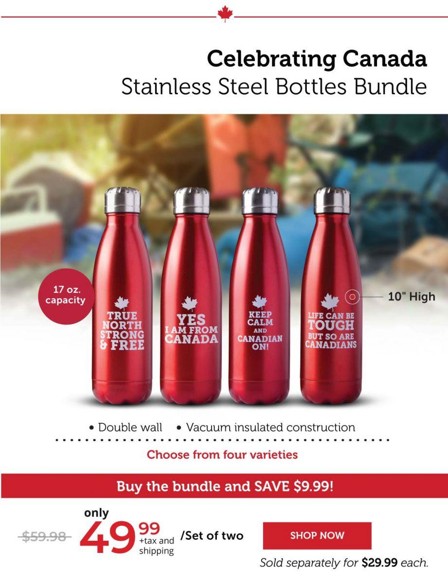 Stainless Steel Bottles Bundle