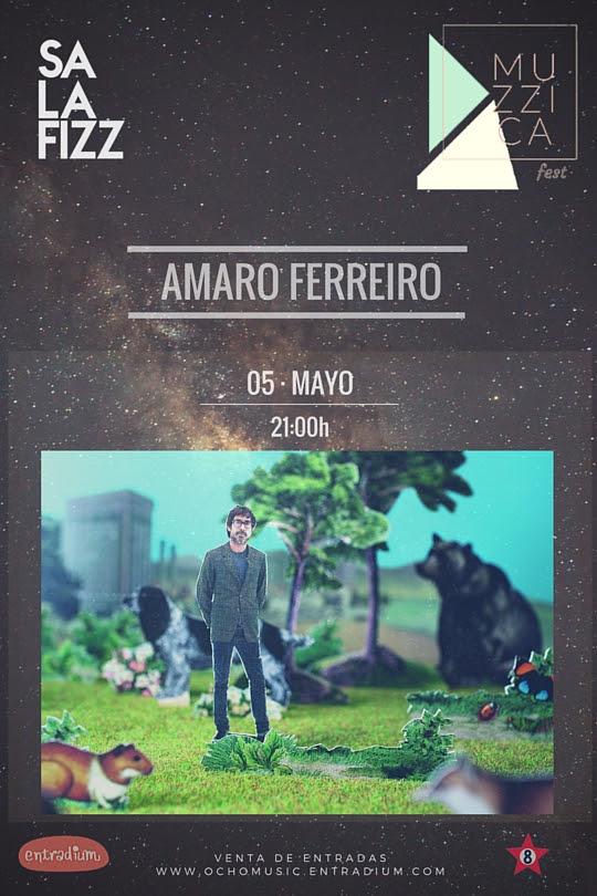 Amaro Ferreiro en el Muzzica Fest