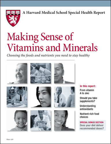 Product Page - Making Sense of Vitamins and Minerals
