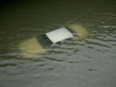 Voiture noyée