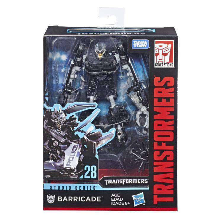 Image of Transformers Studio Series Premier Deluxe Wave 5 - Barricade - JANUARY 2019