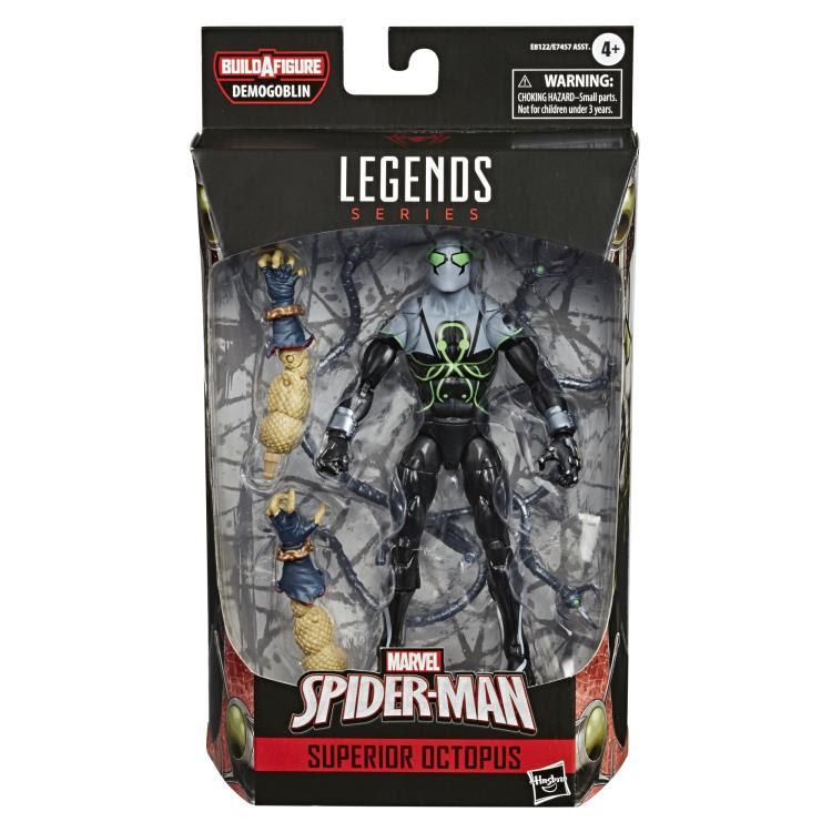 Image of Spider-Man Marvel Legends 6-Inch Action Figures Wave 1 (BAF Demogoblin)- Superior Octopus