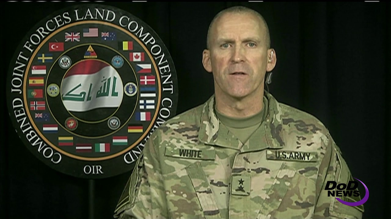 OIR Land Forces Commander: 'Defeat at ISIS' Door'
