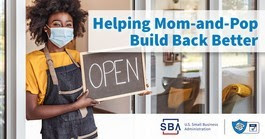 Helping Mom and Pop Build Back Better