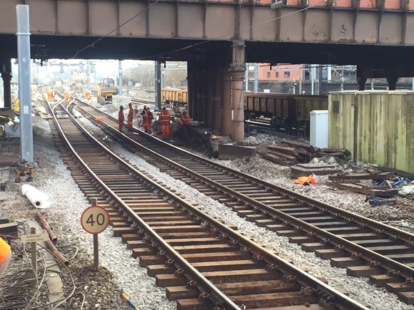 Railway fully reopens after Easter upgrades are completed on time