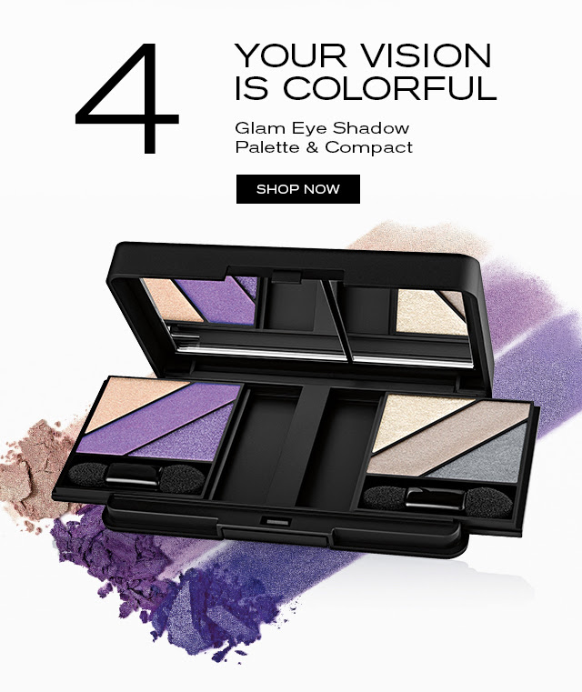 YOUR VISION IS COLORFUL Glam Eye Shadow Palette & Compact SHOP NOW