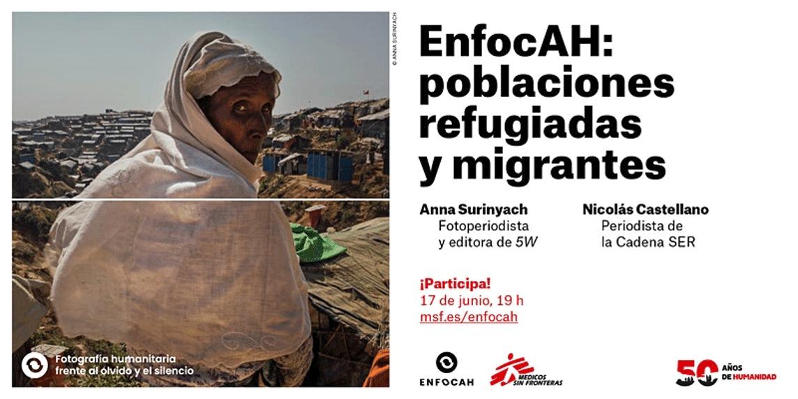 Evento EnfocAH: poblaciones refugiadas y migrantes