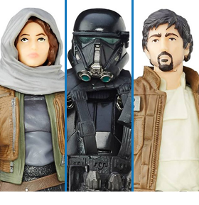 CLEARANCE - EXCLUSIVE ROGUE ONE BLACK SERIES THREE PACK
