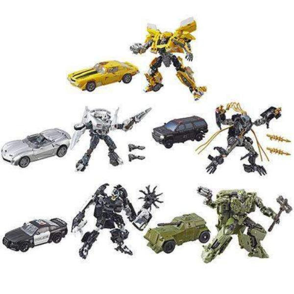 Image of Transformers Studio Series Premier Deluxe Wave 5 - Set of 5 - JANUARY 2019
