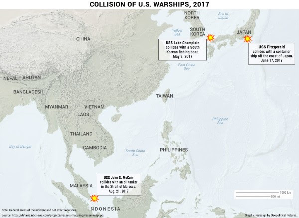 Image: Collision of U.S. Warships, 2017