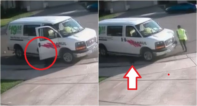 ALERT: Amazon Delivery Woman Takes MASSIVE Dump On Customers Curb… Homeowner Gives Her NASTY Surprise [VID]