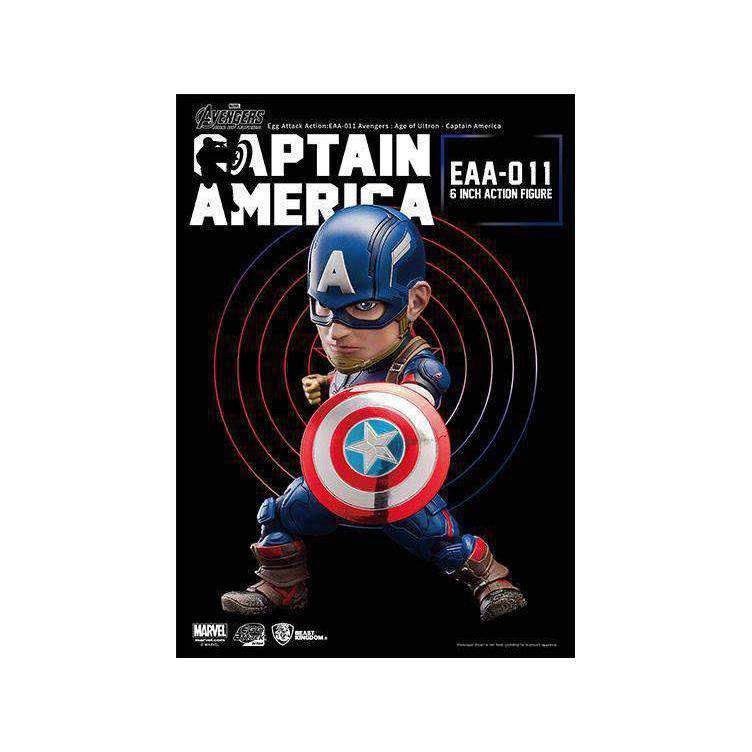 Image of Avengers: Age of Ultron Egg Attack Action EAA-011 Captain America