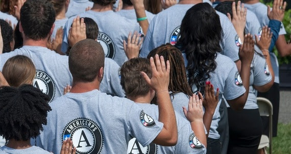 """Our AmeriCorps members and alumni are living up to their pledge to """"get things done"""" for America."""