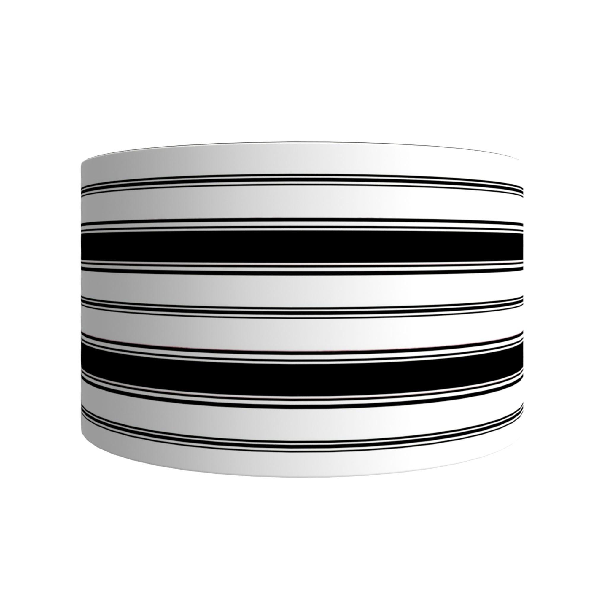 Image of Branca Stripe Drum Shades