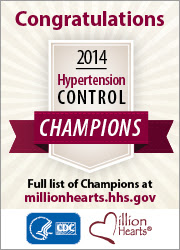 2014 Million Hearts Hypertension Control Champions
