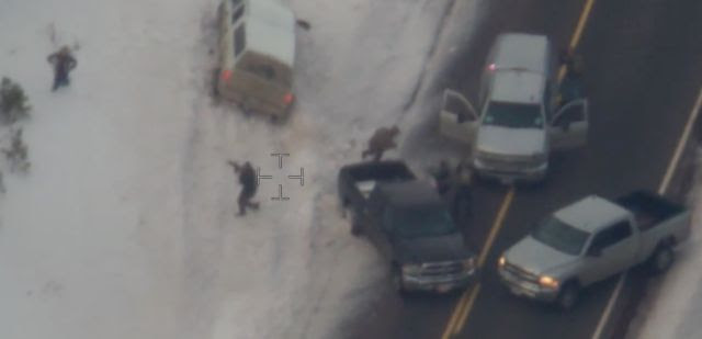 FBI Releases Video of Shooting Death LaVoy Finicum, Oregon Standoff (Warning: Graphic)