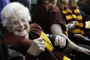 Who is Sister Jean, the 101-year-old college basketball chaplain?
