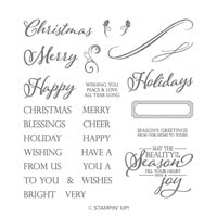 Merry Christmas To All Photopolymer Stamp Set