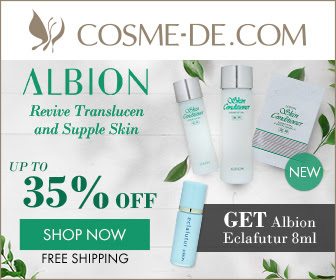 [Up to 35 % Off]Revive Translucent and Supple Skin.Get an Albion Eclafutur 8ml upon purchase of Albion products of  USD159  or above.Enter Code: ALBIONFG  [Shop Now]