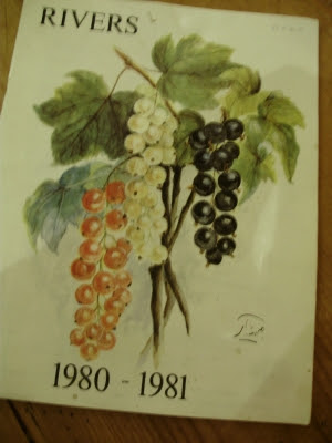 One of the last Thomas Rivers Nursery catalogues