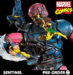 X-Men Vs. Sentinel #1 Battle Diorama Series 1/10 Deluxe Art Scale Limited Edition Statue