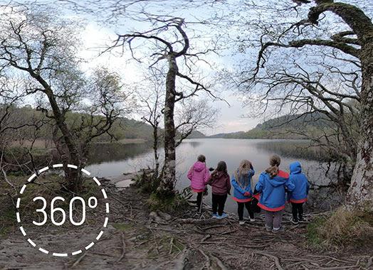 A loch-side walk in Knapdale