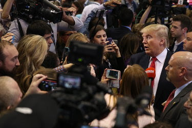 Campaign officials for Donald J. Trump, the presumptive Republican nominee for president, have denied credentials to several news organizations, including The Washington Post.