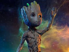 GOTG VOL. 2 BABY GROOT LIFE-SIZE MAQUETTE