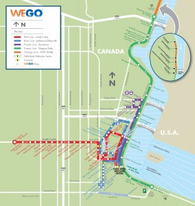 WEGO Route Map