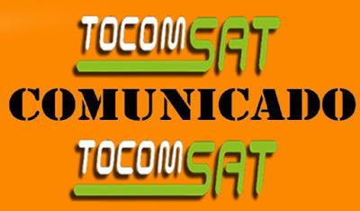 COMUNICADO - COMUNICADO TOCOMSAT / TOCOMLINK / TOCOMBOX AOS USUARIOS DA MARCA CONFIRAM - 25/10/2017