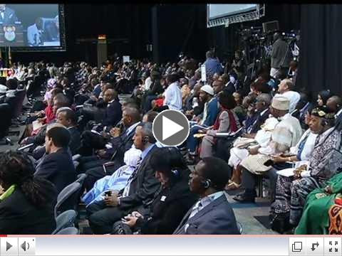 Global Africa Diaspora Summit in South Africa. Excerpts of Speech by President Zuma