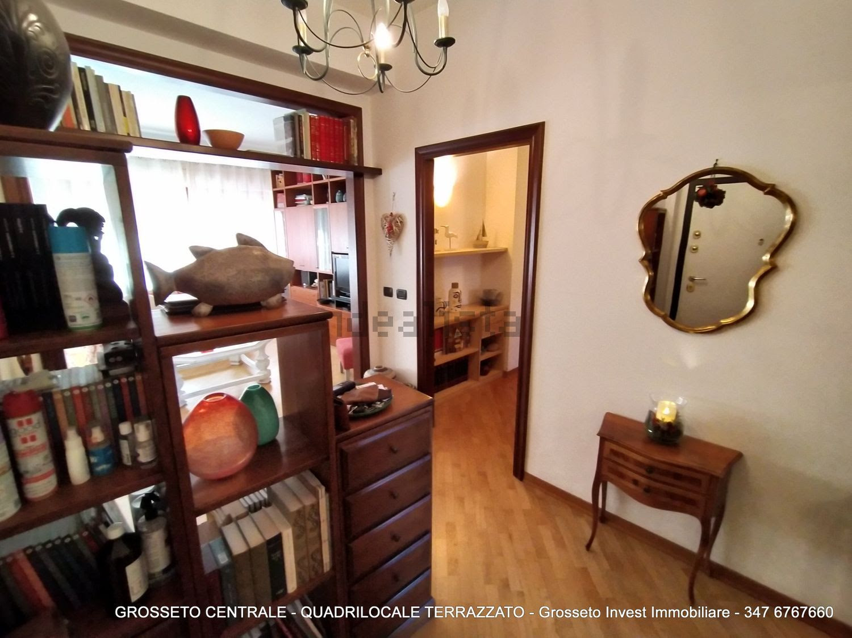 Grosseto Invest di Luigi Ciampi vendita appartamento Ingresso di Quadrilocale vendita via Depretis, 30, Centro, Grosseto