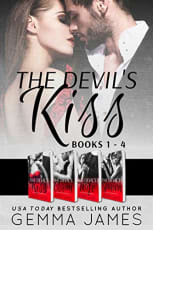 The Devil's Kiss Full Series Boxed Set by Gemma James