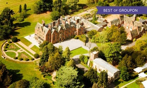 4* Warwickshire Stay with Dinner