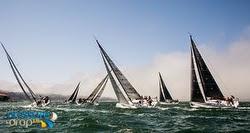 J/111 sailboats- sailing Rolex Big Boat Series- San Francisco