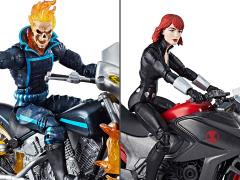 ULTIMATE MARVEL LEGENDS GHOST RIDER & BLACK WIDOW
