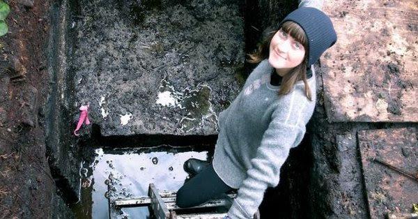 Alisha Gauvreau, estudiante de doctorado en la Universidad de Victoria.