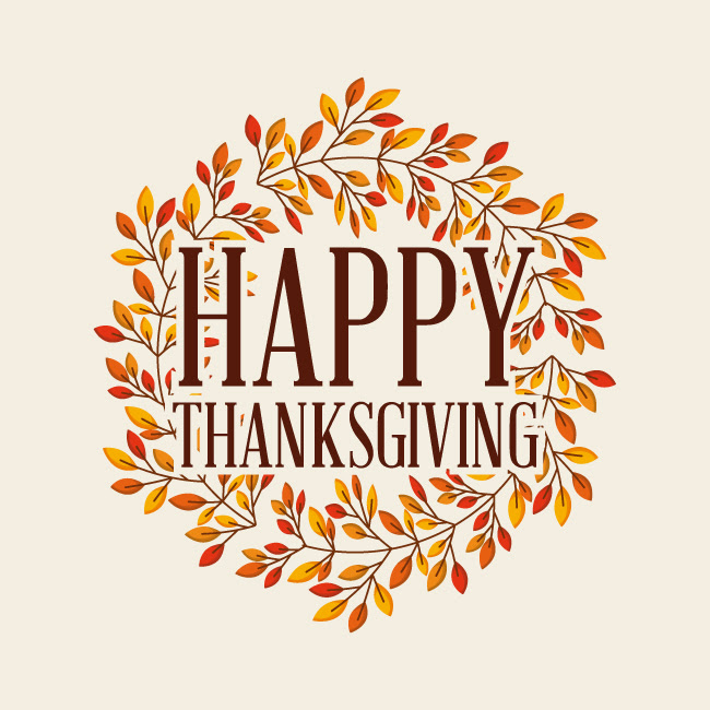 Happy Thanksgiving 2017 - From our Fifth District family to yours