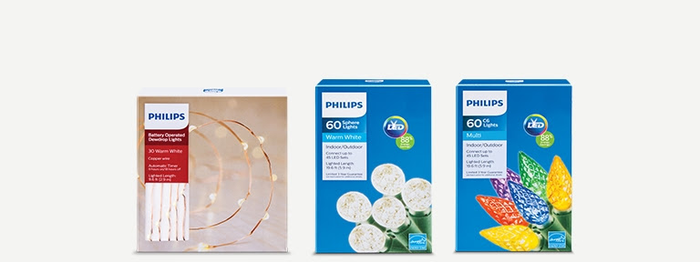 Up to 20% off Philips lights*