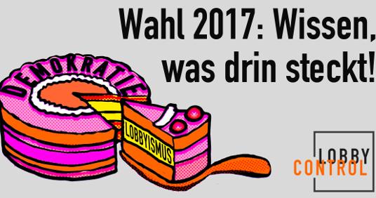 BTW2017: Wissen, was drin steckt