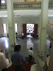 View from the Royal Portrait seen from the International Tipitaka Hall