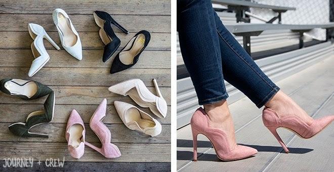 Flattering Stiletto Heels...